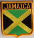 Jamaica Embroidered Flag Patch, style 06.